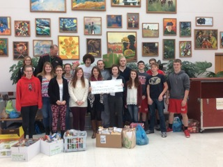 Students driven to donate
