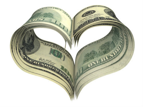 Valentines Day: For the Love of Money