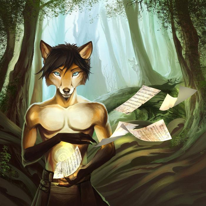Art portraying Fox Amoore