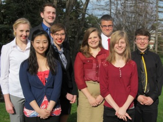 General McLane's Model United Nations team at Mercyhurst's 2015 Conference
