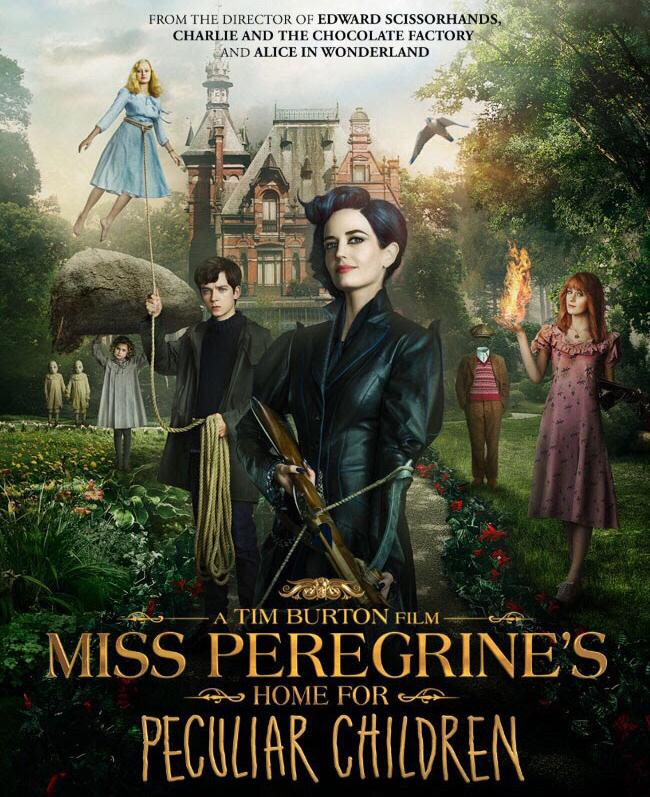 Miss Peregrine Book to Movie Review