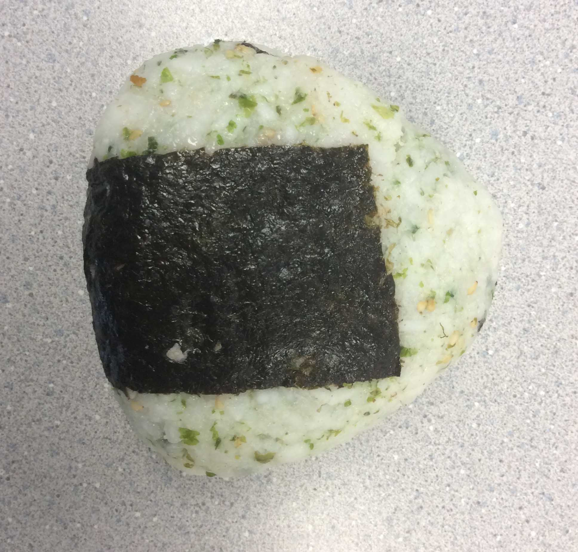 Rice balls: A Japanese lunchtime fave.