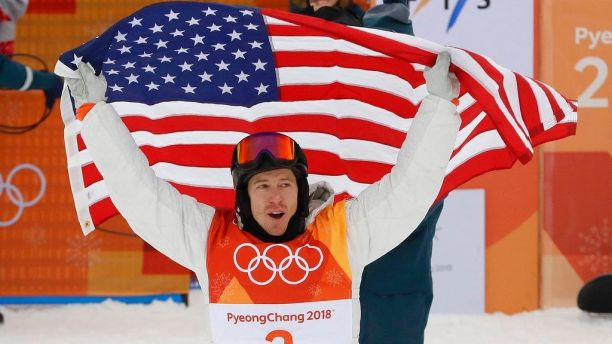 Shaun+White+celebrates+his+gold+medal+win%21