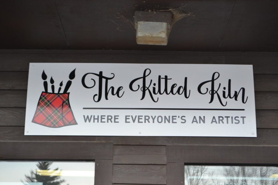 The Kilted Kiln paint your own pottery studio in Edinboro.