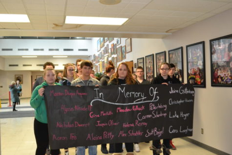 Trails of Treats Spreads Love in the Halls of GMHS