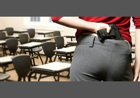 Armed with Knowledge; Should Teachers Be Allowed to Carry Guns?