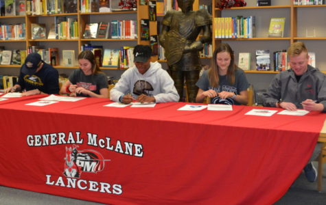 Athletes Sign National Letters of Intent