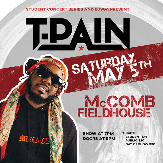 TPain Promo for upcoming concert at EUP.