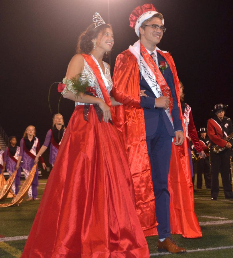 Homecoming Queen Ashley Burhenn & King Logan Miller