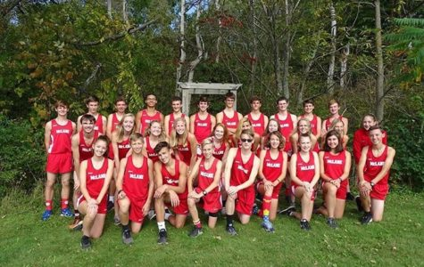 General McLanes 2018 Cross Country team