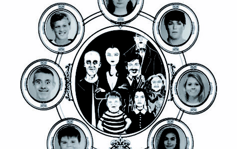 """The Addams Family"" Creeps Into the General Mclane Music Program"