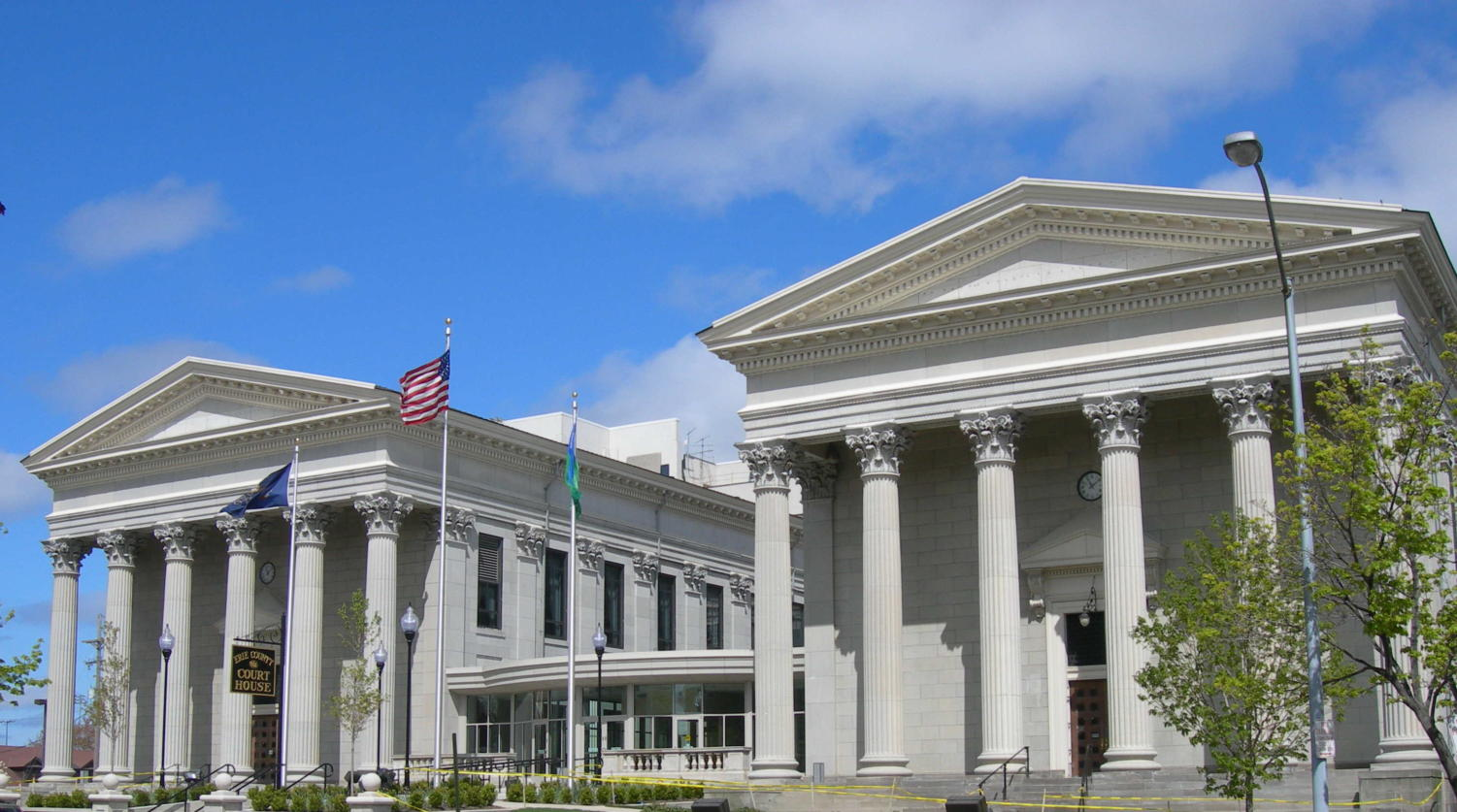 The Erie County Courthouse