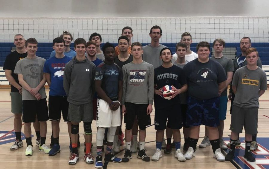 Boys+Co-op+Volleyball+Makes+its+Debut