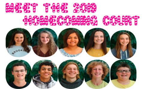 Meet the 2019 Homecoming Court