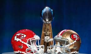 The San Francisco 49ers and Kansas City Chiefs battle it out for the Lombardi Trophy
