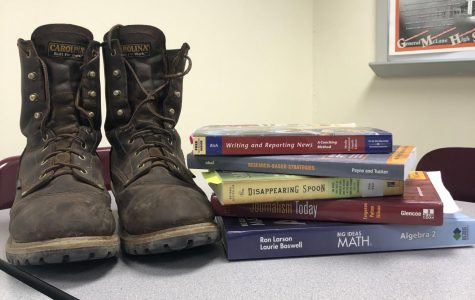 Boots or books?  Which will you choose for your future?