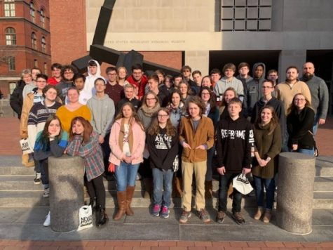 GM Students Visit the Holocaust Museum in DC.