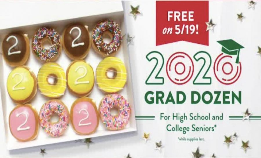 Krispy Kreme Honors the Class of 2020