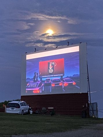 Class of 2020 Virtual Commencement Held at Sunset Drive-In