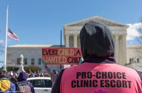 Some people volunteer to safely lead women in and out of abortion clinics.