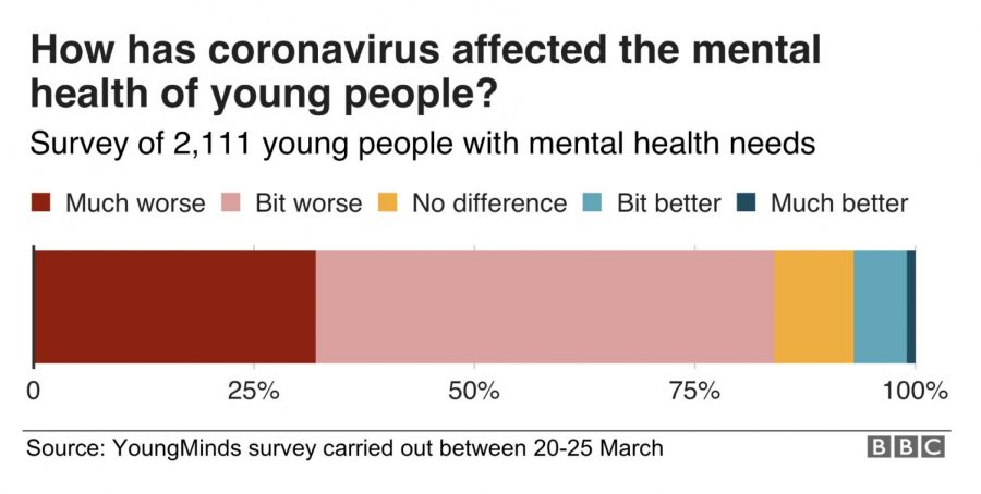 How has the COVID-19 pandemic affected students mental health?
