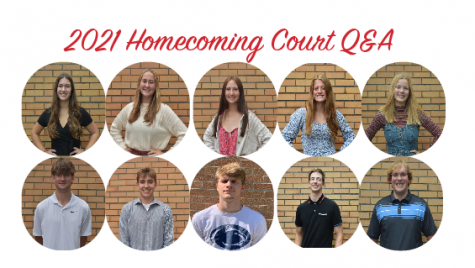 The 2021 Homecoming Court